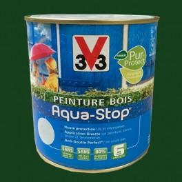 Peinture V33 Bois Aqua-Stop Vert Pays Basque Satin
