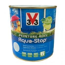 Peinture V33 Bois Aqua-Stop Blanc Satin