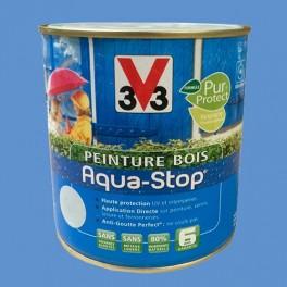 Peinture V33 Bois Aqua-Stop Lavande Bleutée Satin