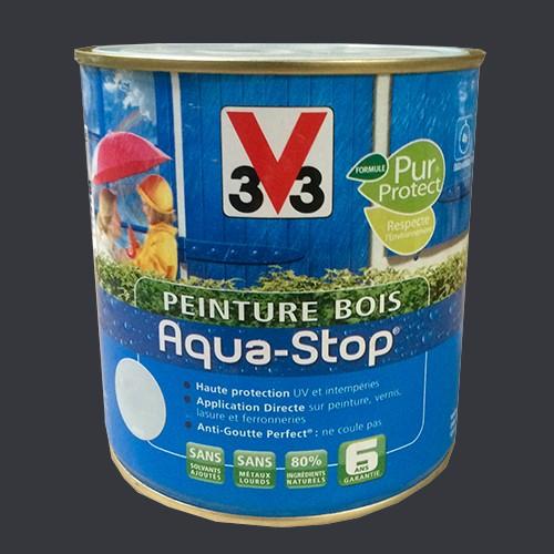 Peinture v33 bois aqua stop satin 2 5l pas cher en ligne - Peinture bois exterieur pas cher ...