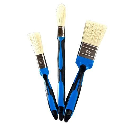 Ensemble 3 Pinceaux toutes peintures