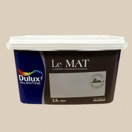 Peinture DULUX VALENTINE Le Mat Brin d'avoine 2,5L
