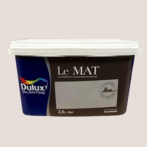 peinture dulux valentine le mat lin naturel 2 5l pas cher
