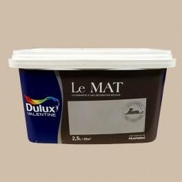 Peinture DULUX VALENTINE Le Mat Café Crème 2,5L