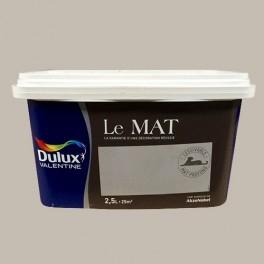 Peinture DULUX VALENTINE Le Mat Argile Douce 2,5L