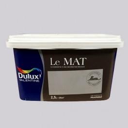 Peinture DULUX VALENTINE Le Mat Nuage Parme 2,5L