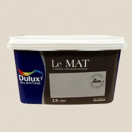 Peinture DULUX VALENTINE Le Mat Ficelle 2,5L