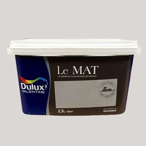 peinture dulux valentine le mat soup on de rose 2 5l pas cher en ligne. Black Bedroom Furniture Sets. Home Design Ideas