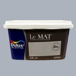 Peinture DULUX VALENTINE Le Mat Gris Charme 2,5L
