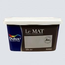 Peinture DULUX VALENTINE Le Mat Plume Légère 2,5L