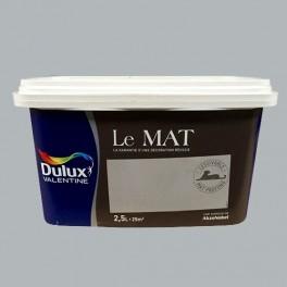 Peinture DULUX VALENTINE Le Mat Toits de Paris 2,5L