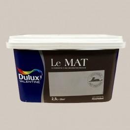 Peinture DULUX VALENTINE Le Mat Pur Lin 2,5L