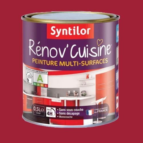 Peinture multi surfaces syntilor r nov 39 cuisine gaspacho for Peinture cuisine lessivable