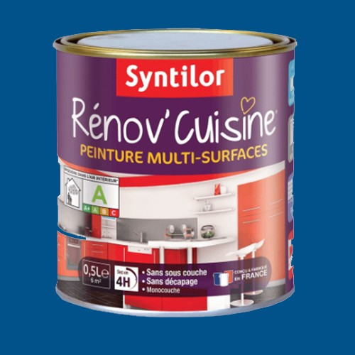 Peinture multi surfaces syntilor r nov 39 cuisine bleu tajine pas cher en ligne - Peinture cuisine pas cher ...