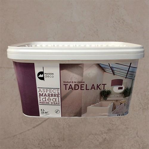Enduit à la chaux- Tadelakt- Maison Déco-Terre glaise- 5L