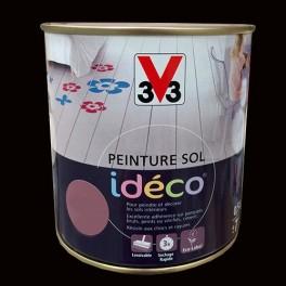 Peinture sol V33 Idéco Réglisse Satin
