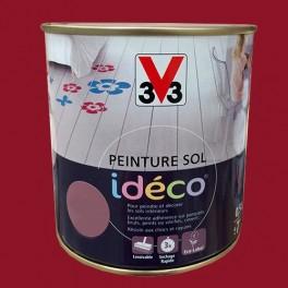 Peinture sol V33 Idéco Terre rouge Satin