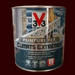 """Peinture Fer V33 """"Climats Extrêmes"""" Brun normand Brillant"""