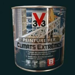 Peinture Fer V33 Climats Extrêmes Vert Omorika Brillant